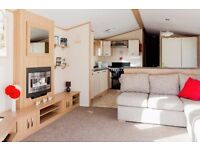 3 bedroom ATlas Ruby with decking hot tub double glazing sited in Northumberland £250.90 per month