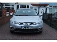 HONDA CIVIC SE I-VTEC SILVER 5DOOR 1.4 - FSH! 1 previous lady owner!