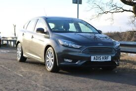 Ford Focus, Titanium !!! 1.5 - 120 HP !!! Low mileage !!! One owner from new !!!