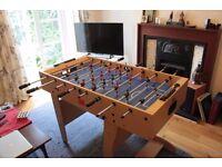 Folding 4' Table Football (Foosball) Great Condition