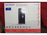 Netgear ADSL2+ N300 Dual-Band Wireless Moden Router