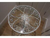 Zara Home Engraved Wrought Pedestal Table