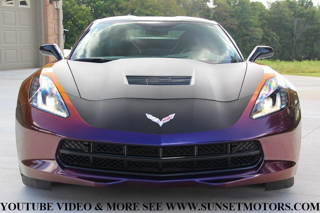 2017 Silver Chevrolet Corvette Stingray Z51   C7 Corvette Photo 10