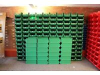 144 x Warehouse Storage Picking Bins Part Containers Plastic
