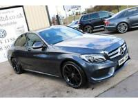 2014 MERCEDES C220 BLUETEC AMG LINE AUTO 170 BHP *NIGHT ED SPEC & AMG STYLING (FINANCE & WARRANTY)