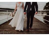 Beautifull wedding dress size 6