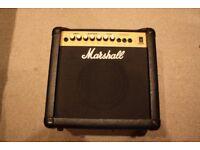 Marshall g15rcd Guitar Amplifier, 15 Watt Amp, not working (PARTS AND REPAIRS)