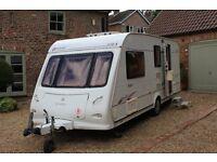 Elddis Avante 524 (4 Berth) Caravan: 2005 model