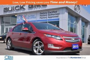 2013 Chevrolet Volt Electric Leather|Bose Audio|Polished Wheels!