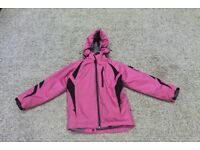 Chamonix girls pink ski jacket size 128