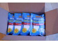 Hanging wardrobe dehumidifiers - 1 box of 12 packs