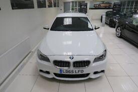 BMW 5 SERIES 2.0 520d M Sport 4dr Auto (white) 2015