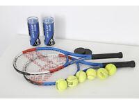 Slazenger Tennis Rackets and Dunlop Balls