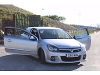 Vauxhall Astra VXR Silver 2L with low mileage and long MOT