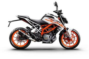 KTM 390 Duke , overjarig , type 2017 , kenteken 2018