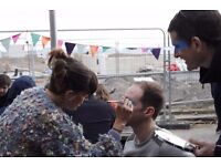 VOLUNTEER FACE PAINTERS & HELPERS REQUIRED FOR CHARITY EVENT ON THE BEACH!