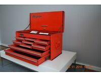 SNAP ON TOP BOX 9 DRAWER CHEST WITH KEY