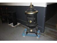 solid fuel wood burner