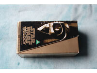 Star Wars Trilogy Special Edition VHS (gold)