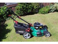 Qualcast 161cc Key Start Self Propelled Petrol Rotary Lawn Mower