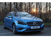Mercedes Benz A200 CDI 1.8 w176 136bhp south seas blue