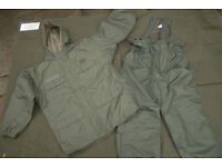 Rare!! French Army/Foriegn Legion ECWS COLD WEATHER Suit, ideal for Fishing (as new)