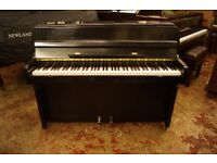 Small black compact piano - Tuned & UK delivery available