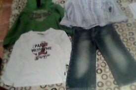 Bundle Next/Mexx boys clothes 3-4yrs