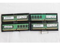 4 x 1GB DDR2 RAM PC2-5300