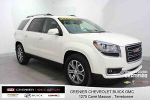 2015 GMC ACADIA 4WD SLT 7 PASSAGERS *GPS TOIT PANORAMIQUE CUIR*