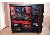 Gaming PC - i3 4170 - 16GB DDR3 - GTX 760 OC- 128GB SSD - 500GB HDD - WIFI - BUILT 12/08/16 + GAMES