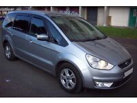 FORD GALAXY 2.0 TDCI AUTOMATIC 2008/08 7 SEATER FULL SERVICE HISTORY