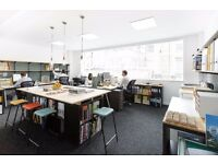1 - 2 desk spaces available in London Bridge/Borough in friendly architects office