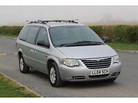 2004 CHRYSLER GRAND VOYAGER LTD XS AUTOMATIC 2.8 DIESEL! 7 SEATER! LEATHER! HPI CLEAR!