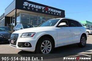 2013 Audi Q5 2.0L Premium AWD w/ NAVI, MOONROOF, BACKUP CAM