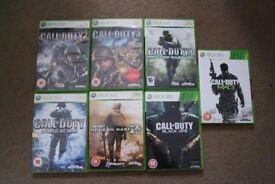 Xbox360 Call of duty bundle
