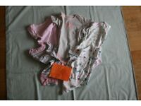 Baby Girl Clothes Bundle Size 18 to 24 Months 5 Body Suits