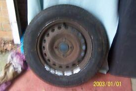 Spare wheel/tyre