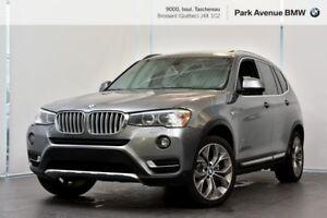 2016 BMW X3 xDrive28i TOIT OUVRANT / GPS / JANTES 19''