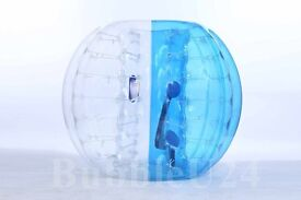 Bubble Balls Package 5 red 5 blue Body Zorb Zorbing Soccer Football Game With 1 Free Pump