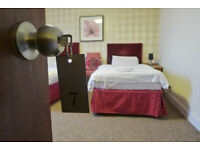 Serviced Twins and Singles @ Guest House from 120PW + parking + WIFI