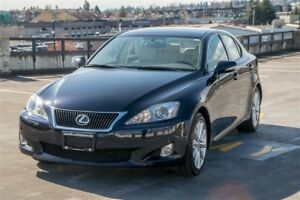 2009 Lexus IS 350 Clean Low KM, Leather, Sunroof!
