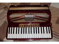 Hohner Verdi VM accordion musette tuned suitable for Scottish folk music (modified see description)