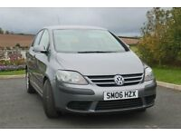 2006 Volkswagen Golf Plus S, 1.9 TDI, full service history, two keys, one owner, low mileage