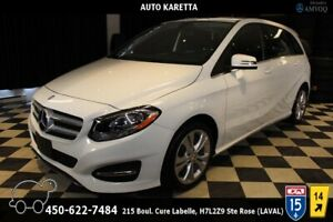 2015 Mercedes-Benz B-Class B250 4MATIC/AWD, CUIR, BLUETOOTH, A/C