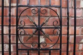 Wrought Iron Security Grille