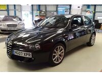 Alfa Romeo 147 T.SPARK 16V LUSSO [LEATHER / CRUISE / FOGS] (nera black) 2007