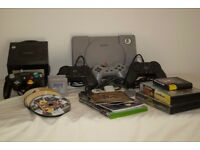 Sony PS1, Nintendo Gamecube, controls and a variety of games