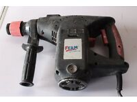 SDS Hammer Drill Ferm plus drill/chisel set