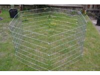 hexagon pets play pen - puppies, guinea pigs, rabbits, kitten etc